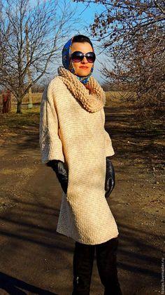 Платья ручной работы. Зимнее платье в стиле