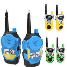 Electric Walkie-talkie For kid Long-range Wireless Conversation Children Play House Toy Electric Interphone Birthday Gift – Hot Products In China, Toys For Boys, Kids Toys, Children Play, Ems, Talking Toys, House Games, Cheap Toys, Toy 2