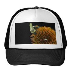 Coneflower & Eastern Carpenter Bee Items Trucker Hat