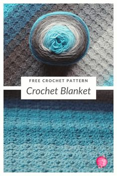 Free crochet pattern for a corner to corner blanket border. This includes a photo tutorial and is beginner friendly. You can use the blanket border pattern on ANY blanket too! Crotchet Baby Blanket, Crochet Blanket Tutorial, Crochet Blanket Border, Crochet Throw Pattern, Crochet Edging Patterns, Border Pattern, Crochet Blankets, Baby Blankets, Free Pattern