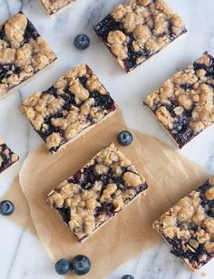 Blueberry-Oat Bars // Tracey's Culinary Adventures