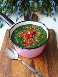 Cold Nettle Avocado Soup