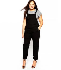 ASOS Curve Overalls in Twill