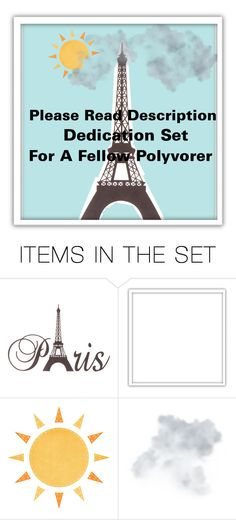 """READ DESCRIPTION- DEDICATION SET"" by donuts-n-sprinkles ❤ liked on Polyvore featuring art and vintage"