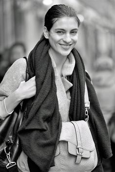 Model off-duty, Paris
