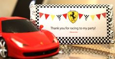 Saloo7 7th birthday 7th Birthday, Happy Birthday, Birthday Parties, Ferrari Party, Baptism Themes, Party Themes, Party Ideas, Race Car Party, Fast Cars