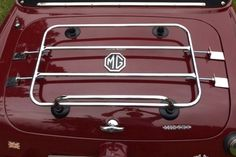 The Classic Temporary Luggage Carrier (MGB, MGC and MG Midget)