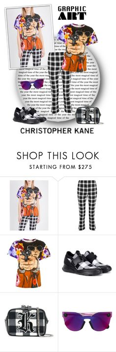 """Christopher Kane Graphic Art"" by leanne-mcclean ❤ liked on Polyvore featuring Christopher Kane"