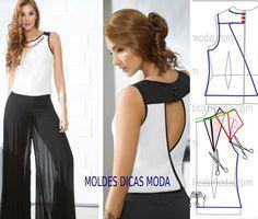 Sewing pattern / blouse