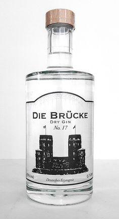 Die Brücke Archive - Gin Nerds Liquor Bottles, Vodka Bottle, Gin Selection, Best Gin Cocktails, Gin Joint, Premium Gin, Gin Brands, Gin Tasting, Geneva