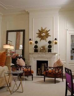 New Home Interior Design: Dramatic Interiors