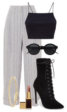 """Untitled #95"" by sofiaosousa on Polyvore featuring Brunello Cucinelli, Steve Madden, Tom Ford and David Yurman"