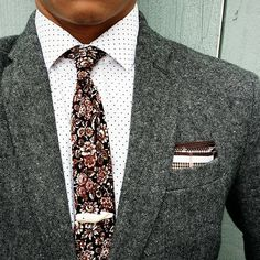 Mixed prints. You got the floral, the dots, and the checks going on, all in the same color story, but all different scale.