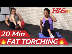 20 Min Fat Burning Workouts to do at Home without Equipment for Men & Women…