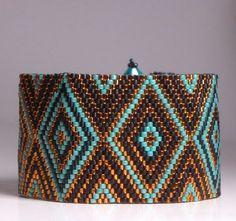Peyote Bracelet Tutorial Pattern