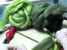 How to make a Christmas Gnome. Needle Felting Tutorial. - YouTube