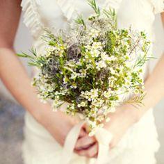 Wild bouquet// bridesmaids