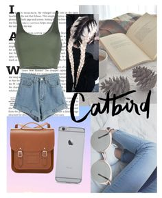 """""""Untitled #25"""" by itsfrankiee on Polyvore featuring The Cambridge Satchel Company, Roque, WithChic, women's clothing, women, female, woman, misses and juniors"""