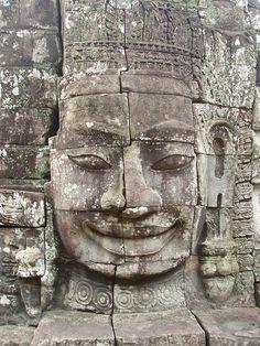 Bayon Temple, Angkor Thom by kauffner, via Flickr