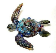 Blue Sea Turtle, Jeremy Sinkus