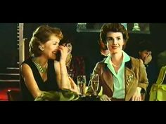 """Isabelle Huppert & Miou-Miou dans un extrait du film """"Coup de foudre"""", Diane Kurys 1982"""