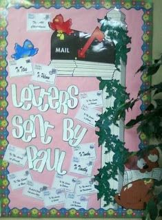 Bible Fun For Kids: Acts & Life of Paul Bulletin Boards