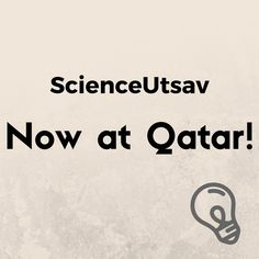 After the huge success of Science Summer Camp 2016 in Qatar, ScienceUtsav now brings you Science Summer Camp 2017 exclusively in Qatar in association with TCA-The Creative Academy.  Do your kids still learn Science from books?   Let's go beyond them and explore Science the fun and practical way. Improve your science quotient and learn skills at ScienceUtsav's Science Summer Camp 2017.  Why ScienceUtsav's Science Summer Camp? - develops your kid's practical scientific skills. - encourages…