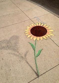 Chalk Art par David Zinn