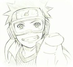 Naruto, obito, and anime image Itachi Uchiha, Obito Kid, Kakashi And Obito, Naruto Y Boruto, Naruto Drawings, Naruto Sketch Drawing, Anime Sketch, Anime Naruto, Fan Art Naruto