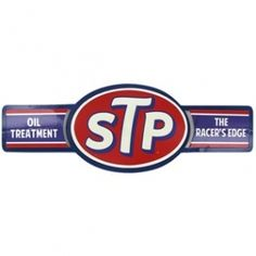 STP Tin on Tin Die Cut Sign⎜Open Road Brands