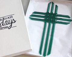 Cross Lenten Season Cross Purple Cross by StainedGlassSundays