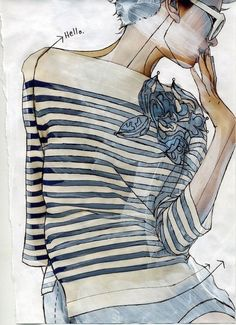 Fabulous fashion illustrations   http://pinterest.com/StyleInked/fashion-illustrations/