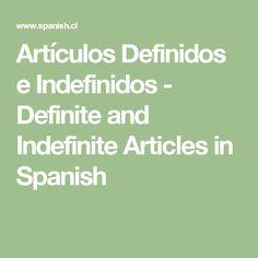 spanish articles worksheets definite and indefinite articles education pinterest spanish. Black Bedroom Furniture Sets. Home Design Ideas