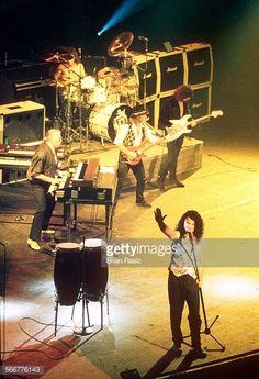 Deep Purple Performing At Brixton Academy London Britain 1993 Deep Purple Ian Gillan Jon Lord Ian Paice Roger Glover And Ritchie Blackmore
