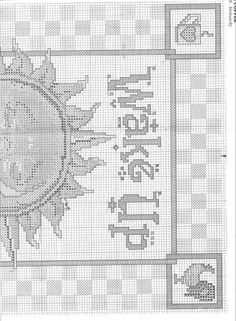 ru / Фото - wake up - Cross Stitch Samplers, Cross Stitching, Cross Stitch Patterns, Cross Tree, Teapots And Cups, Needle And Thread, Plastic Canvas, Drinking Tea, Needlepoint