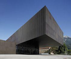 Conversion & extension   Innsbruck Congress Centre A by Cukrowicz Nachbaur Architekten