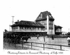 Estación de ferrocarril al golfo  1920