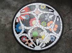 Resultado de imagen para mosaico de flores