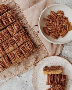 Grain-Free Pecan Bars - Melissa's Healthy Kitchen