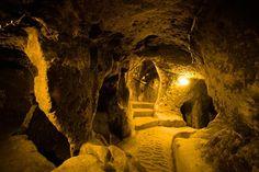 subterran city, Derinkuyu, Capadocia, Turkey