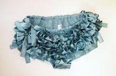 silk ruffled panties...perfection.