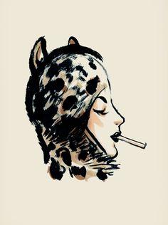 Artist Andrea Ferolla at Illustration Division