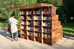 Innovative Outdoor Libraries in Russia | Dwell