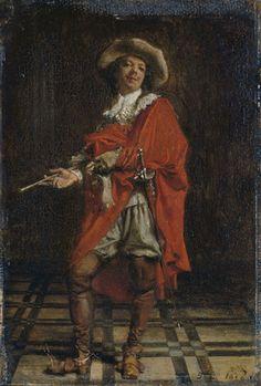 (Jean-Louis-) Ernest Meissonier, A Cavalier: Time of Louis XIV, 1856 (P331)