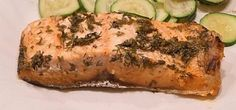 Lemon and Dill Salmon recipe... shhhh it's for late-surprise-mothers day ;)
