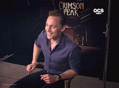 Tom Hiddleston. #CrimsonPeak promo. Via Twitter.