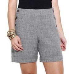 Various Pant Lengths Mid-thigh Short Outfits, Short Dresses, Summer Outfits, Long Shorts, Summer Shorts, Short Elegantes, Casual Wear, Casual Shorts, City Shorts