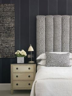 A bedroom from the Haymarket Hotel, London
