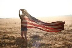 """America, America, God shed His Grace on Thee.  And crown thy good with brotherhood from sea to shining sea."""