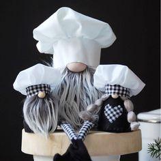 Kitchen Gnome Chef Gnome Baker Gnome Kitchen Decoration